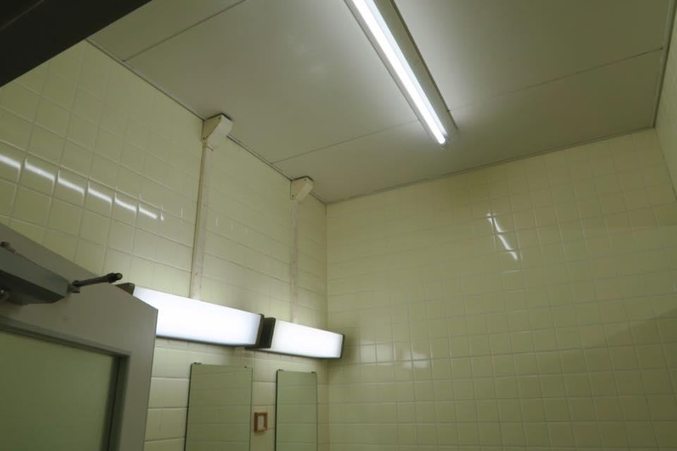 トイレ照明3